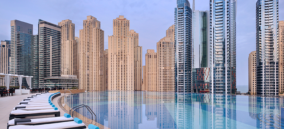 5 Incredible Rooftop Pools In Dubai L Mille