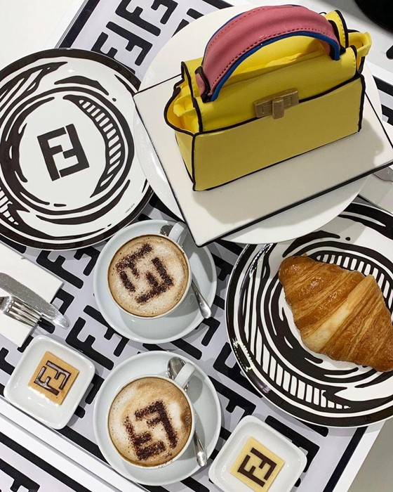 Fendi Cafe Menu