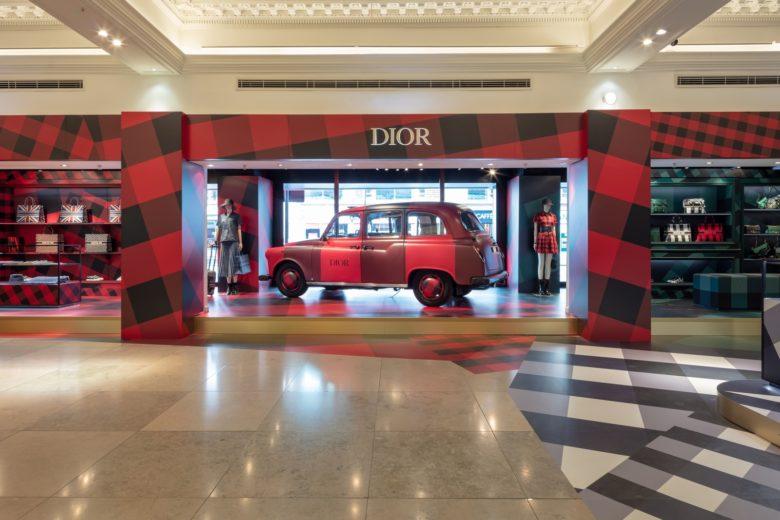 Harrods Dior Pop Up 1