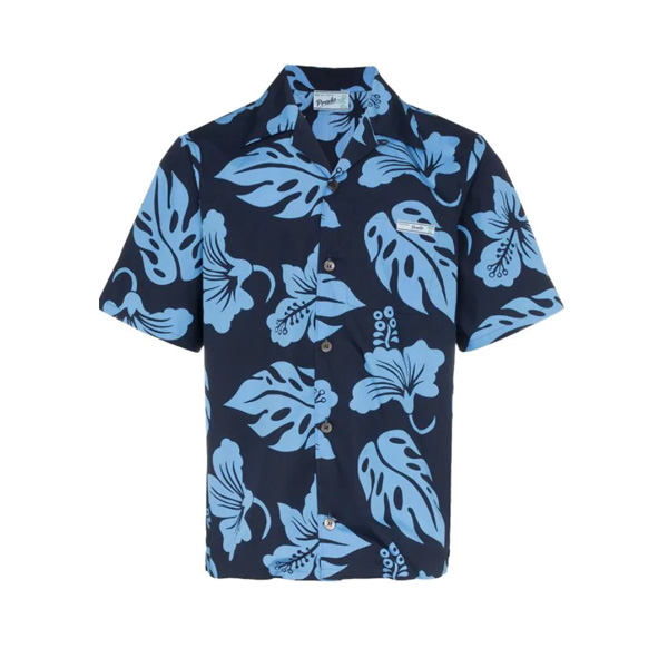 Prada Short-Sleeved Hawaiian Shirt