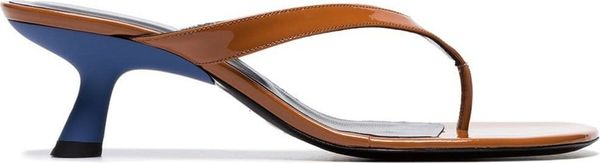 Simon Miller Beep Patent-Leather Sandals