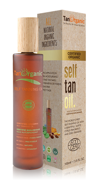 Tan Organic Self Tan Oil
