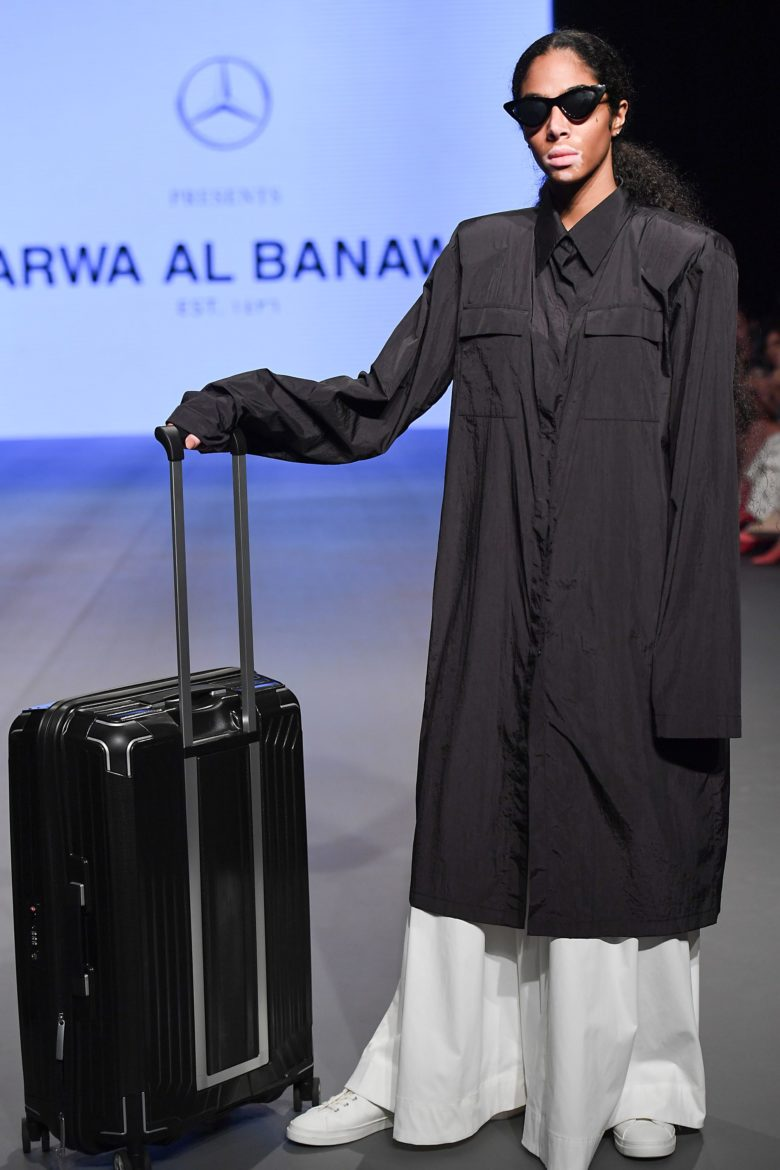 Arwa Al Banawi - Runway - FFWD October Edition 2019