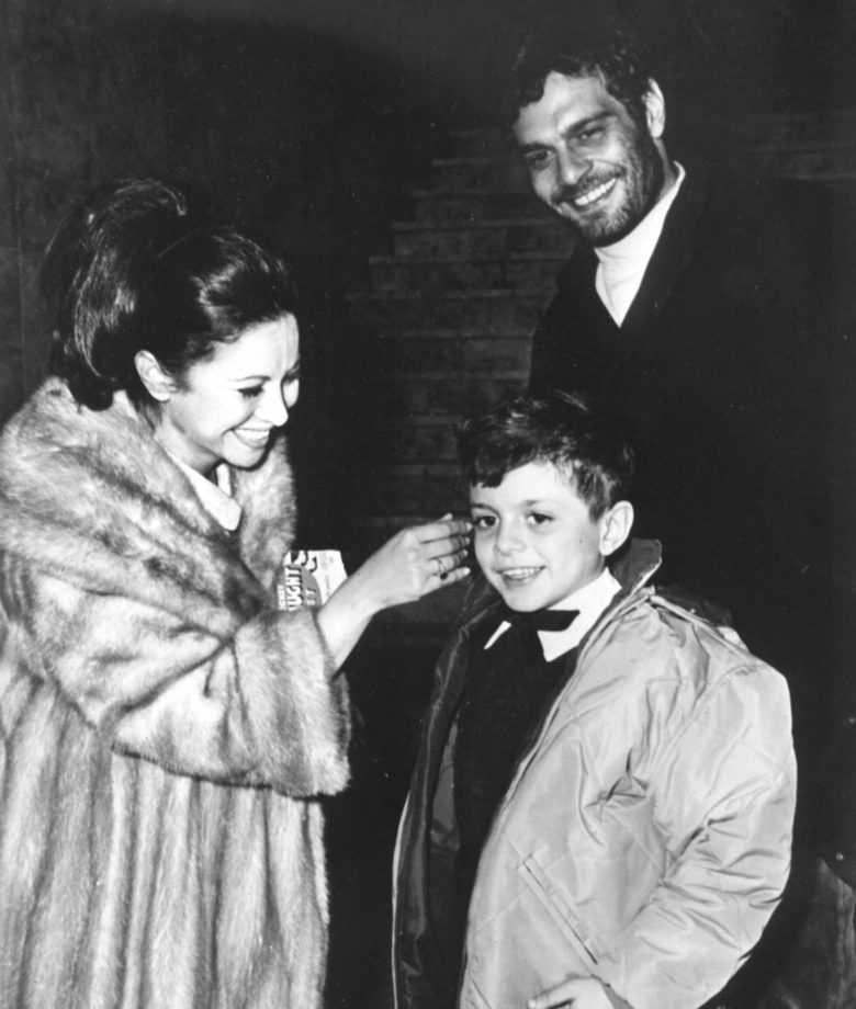 Faten Hamama and Omar Sharif