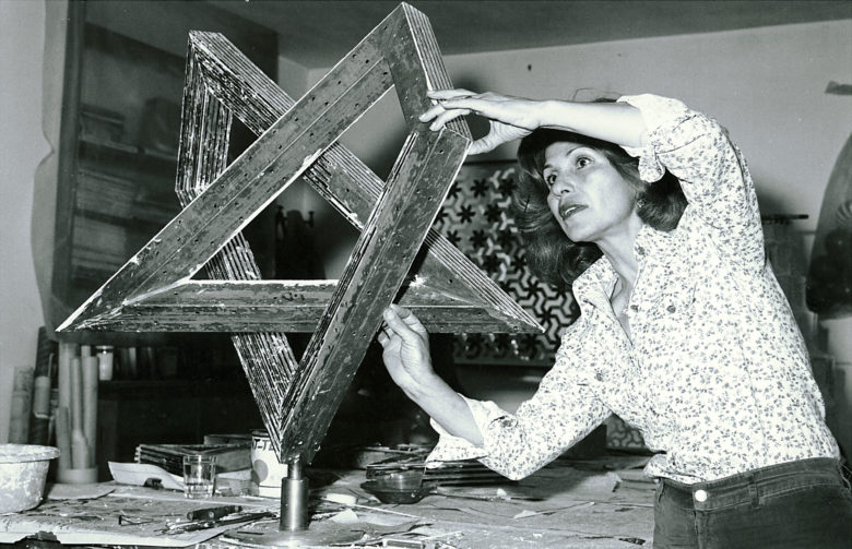 Monir Shahroudy Farmanfarmaian exhibit
