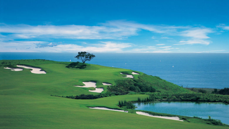 Pelican Hill view on the ocean