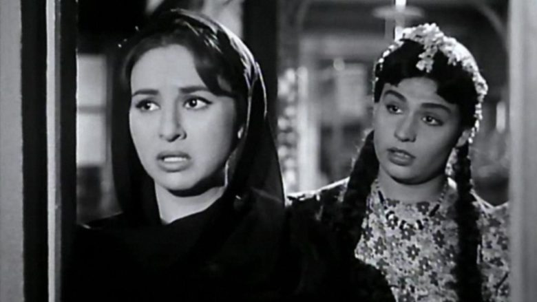 A still from the movie The Nightingale's Prayer, 1959