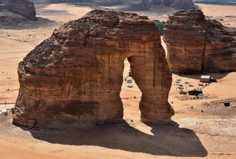 Al Ula archaeological site in Saudi Arabia