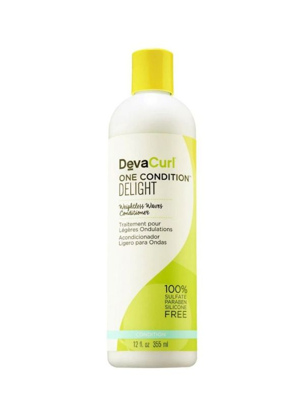 curly hair routine DeVa Curl One Condition Delight