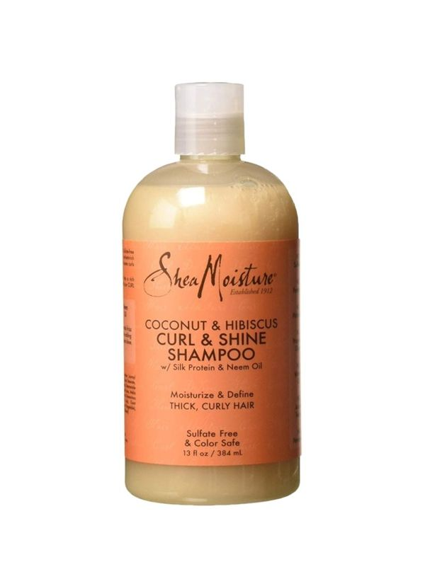 curly hair routine SheaMoisture's Coconut