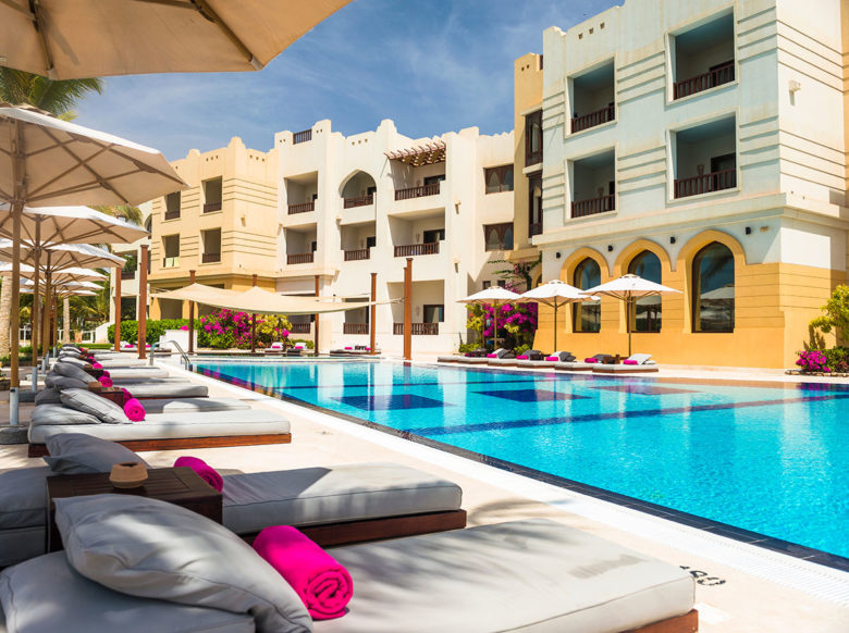 Juweira Boutique Hotel pool in Dhofar