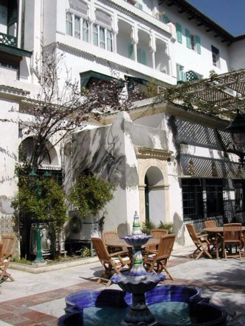 Le Saint George Hotel in Algiers