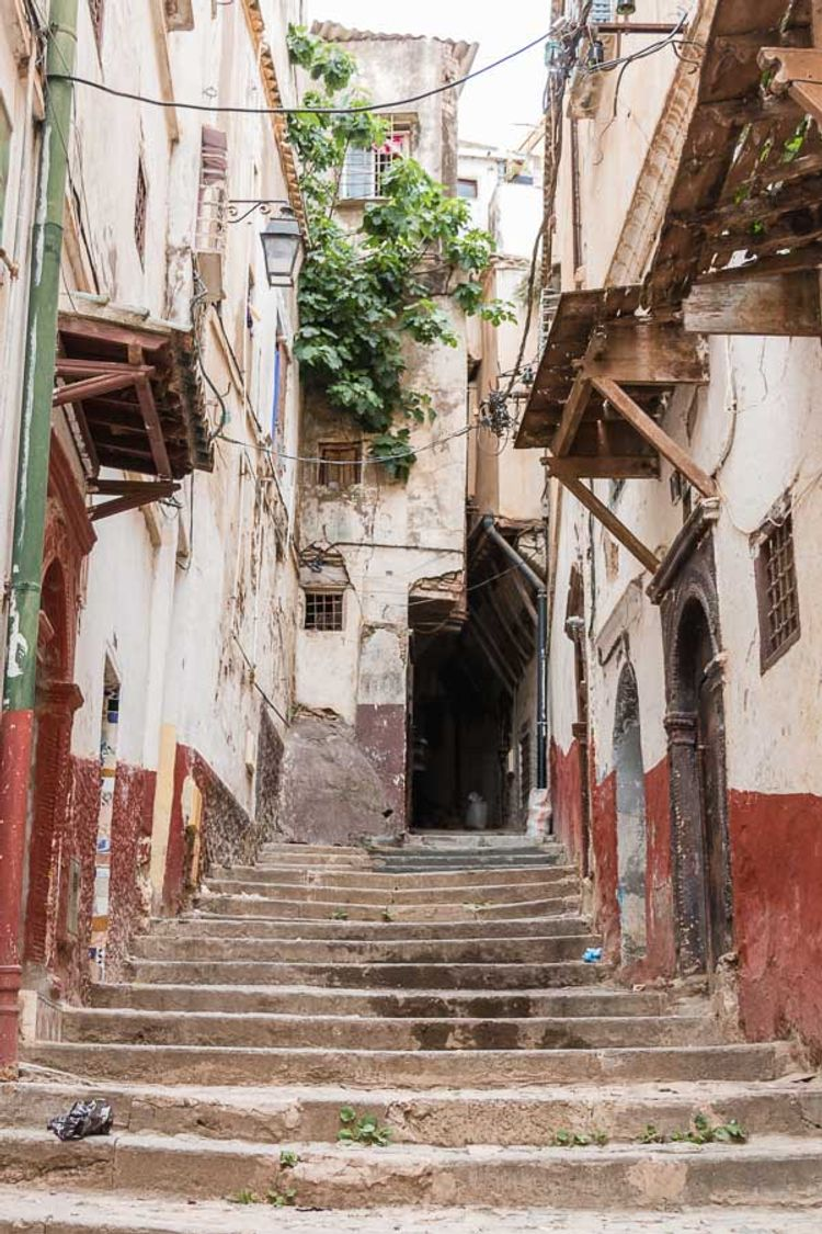 The Casbah in Algiers