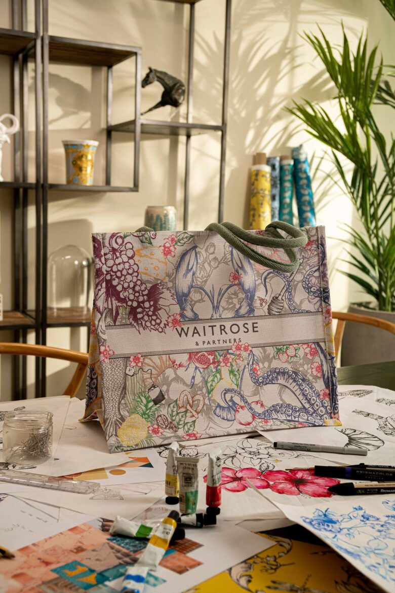 Waitrose x NUAIMI Limited-Edition Sustainable Bag